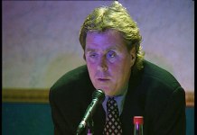 Harry Redknapp in 1996