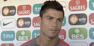 It's all in the eyes . . . Cristiano Ronaldo would love to return to Manchester United