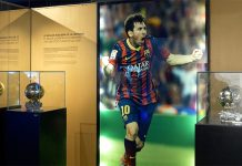 Lionel Messi's goden boots