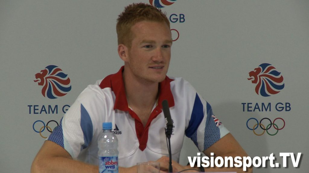 Greg Rutherford says he was inspired by Jessica Ennis