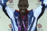 Mo Farah doyble Olympic champion at London 2012