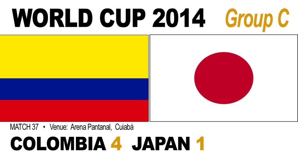 Colombia 4-1 Japan
