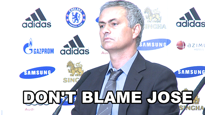Don't blame Jose Mourinho for media abuse of LVG