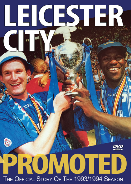 Leicester City Promoted DVD