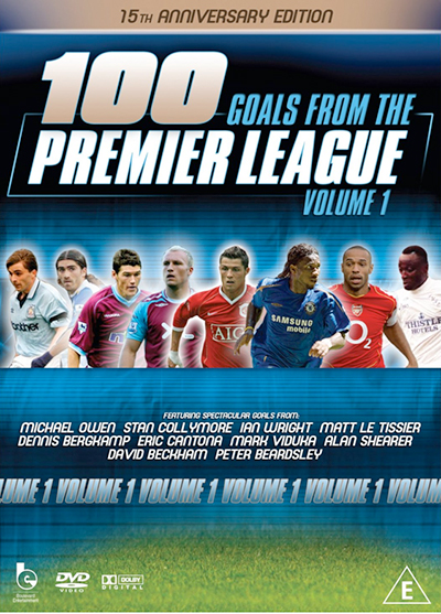 100 Premier League Goals Vol 1 DVD