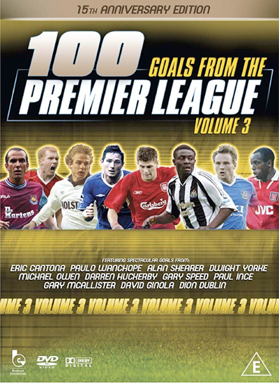 100 Premier League Goals DVD Vol 3