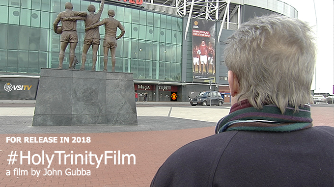 Denis Law and The Trinity statue