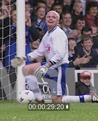 Gazza: the joker keeper ©VSITV