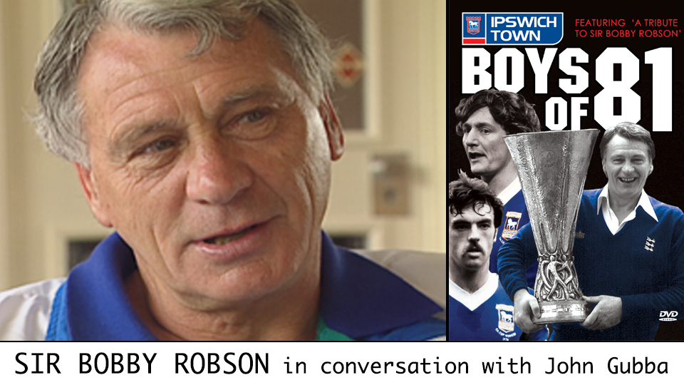 Sir Bobby Robson and his Boys of 81