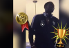 Pogba celebrates Word Cup win