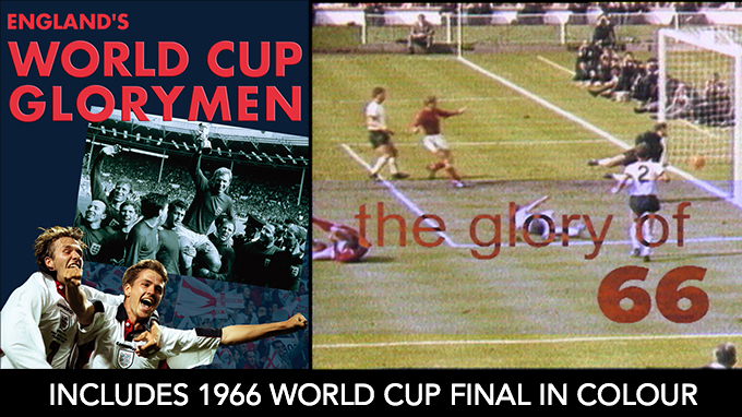 World Cup DVD includes 1966 Wembley Final in colour