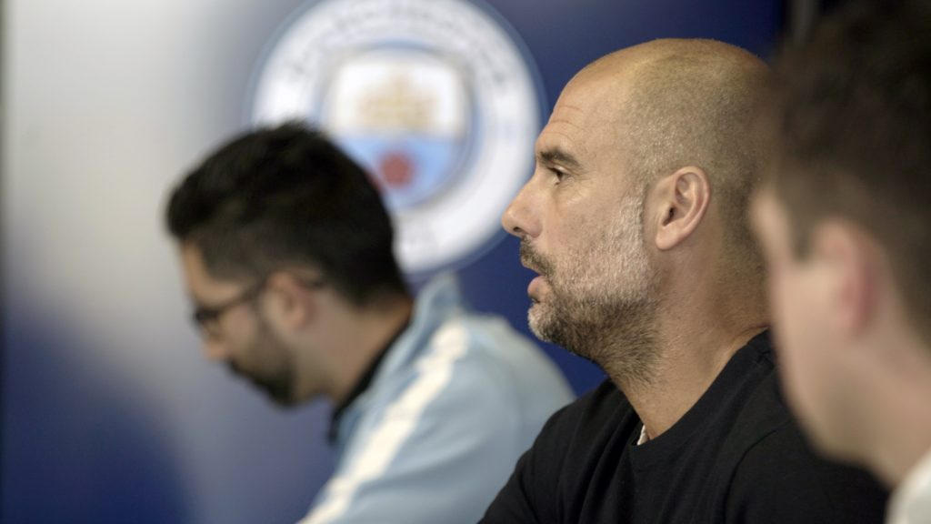 Pep Guardiola has raised the bar at Man City