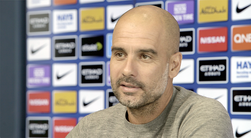 Pep Guadiola passionate about the beautiful game