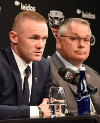 Wayne Rooney enjoying life at DC United