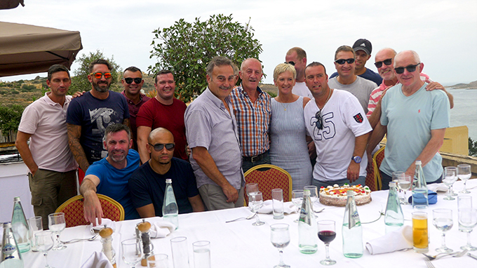 Lunch at the Grand Hotel Gozo hosted by MD Silvio Rapa