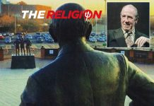 Sir Matt Busby and his statue: Man Utd The Religion