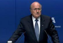 Sepp Blatter under pressure