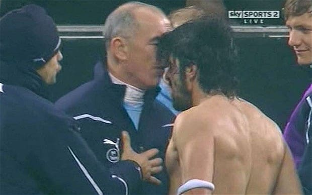 Gennaro Gattuso headbutts Joe Jordan in San Siro