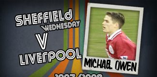 Michael Owen: Sheff Wed v Liverpool 1997/1998