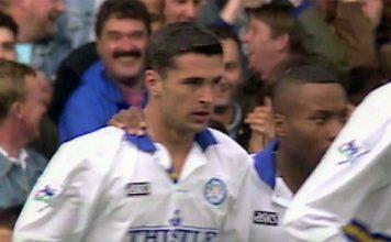 Gary Speed 93/94 Leeds v Wimbledon