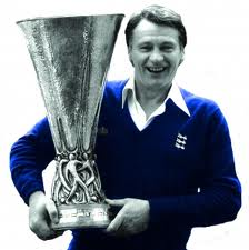 Sir Bobby Robson with the UEFA Cup