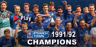 Ipswich Town Champions 1991/1992