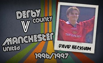 David Beckham: Derby v Man Utd, 1996/1997
