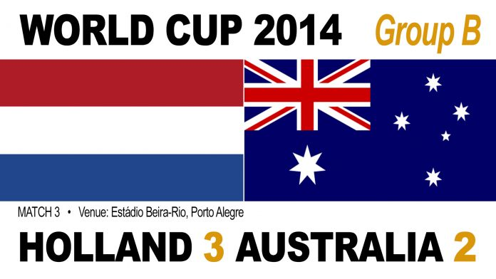 Holland 3-2 Australia