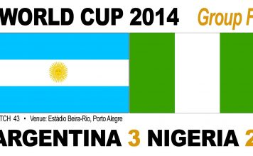 Argentina 3-2 Nigeria