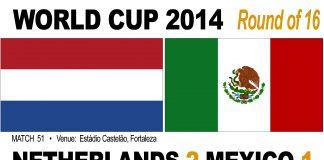 Holland 2-1 Mexico