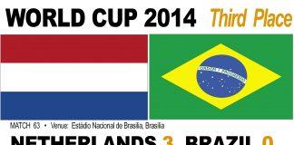Holland 3-0 Brazil