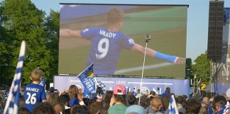 Jamie Vardy's goals made him the toast of Leicester City