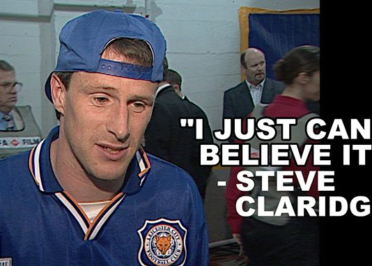 Former Leicester City hero Steve Claridge