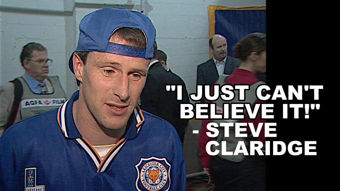 Former Leicester City hero Steve Claridge
