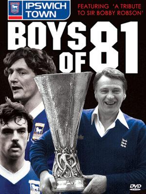 Ipswich Town Boys of 81 DVD