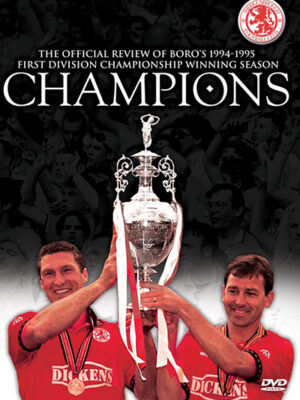 Middlesbrough champions 1994/1995 DVD
