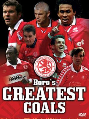 Boro's Greatest Goals DVD