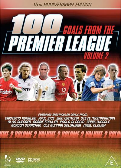 100 Premier League Goals DVD Vol 2