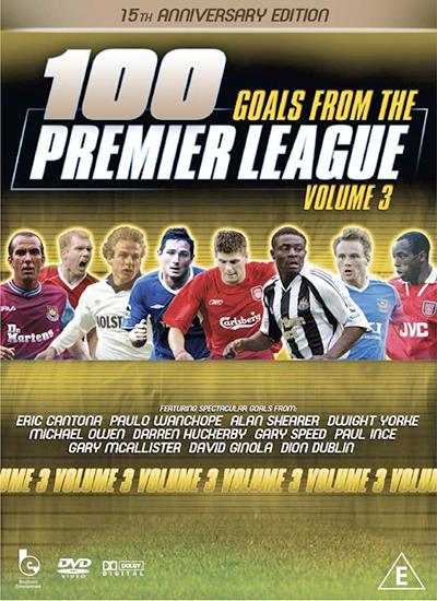 100 Premier League Goals DVD Vol 3