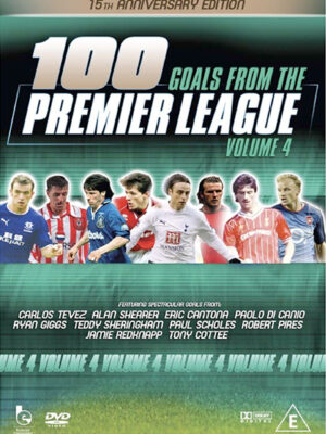 100 Premier Goals DVD Vol 4