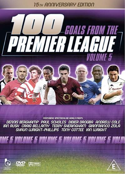 100 Premier League Goals Vol 5 DVD