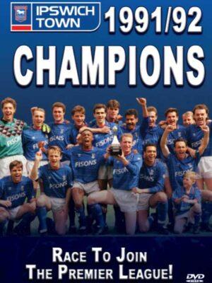 Ipswich Town Champions 1991/1992 DVD