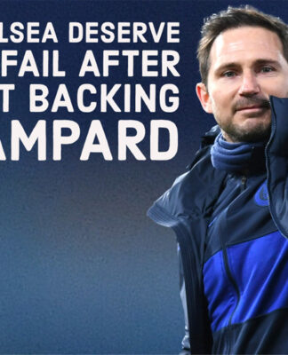 Chelsea deserve to fail for not backing Frank Lampard